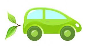 zelené autíčko